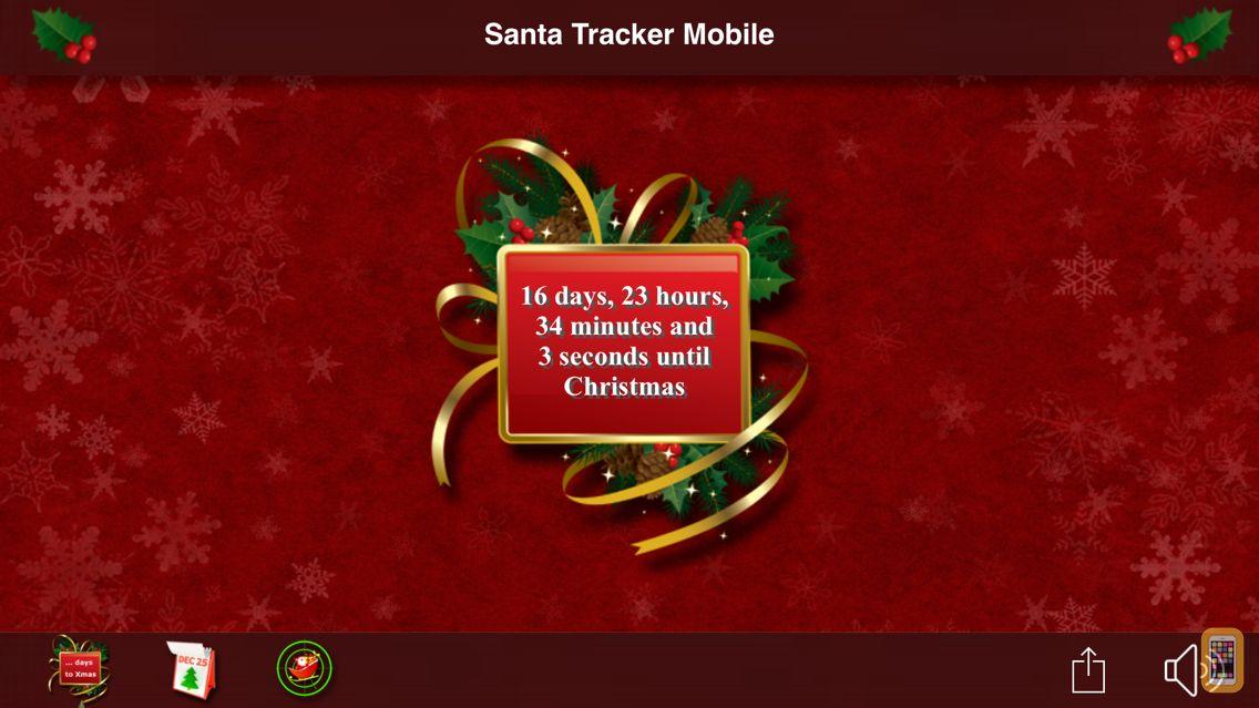 Screenshot - Santa Tracker Mobile