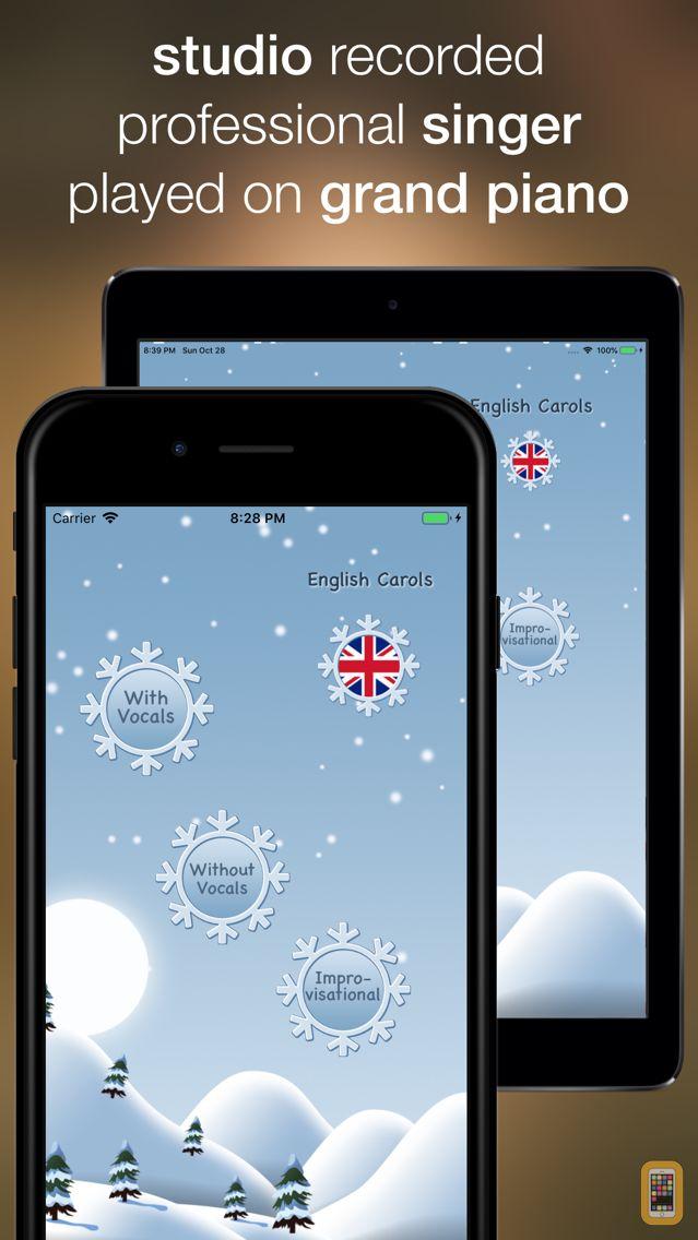 Screenshot - Christmas Music - sing along
