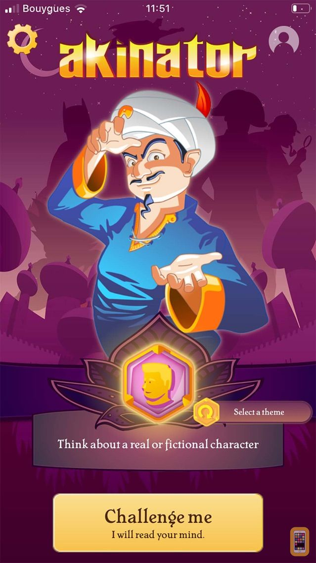 Screenshot - Akinator VIP