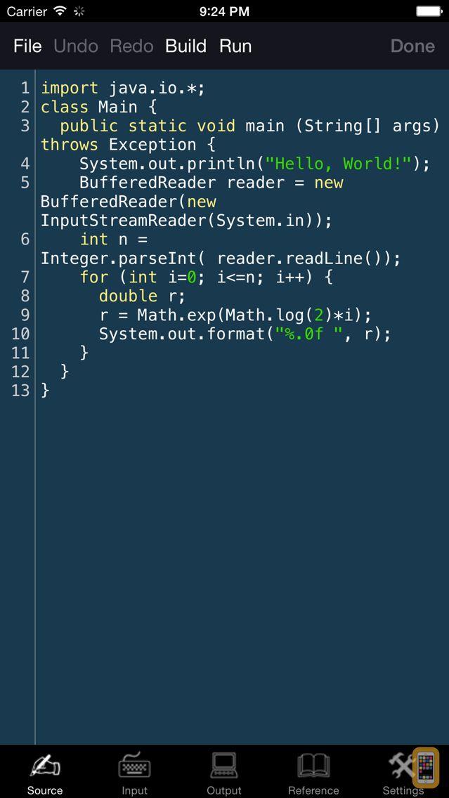 Screenshot - JVM Programming Language