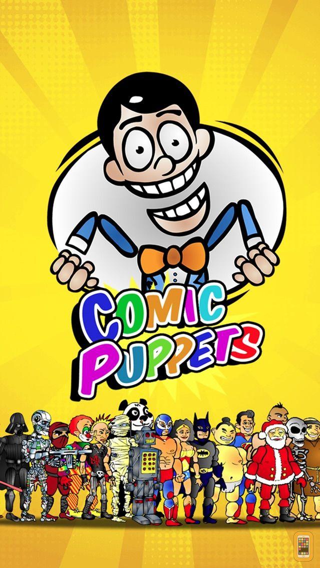 Screenshot - Comic Puppets