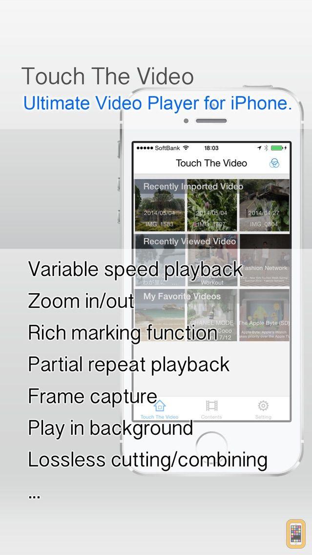 Screenshot - TouchTheVideo