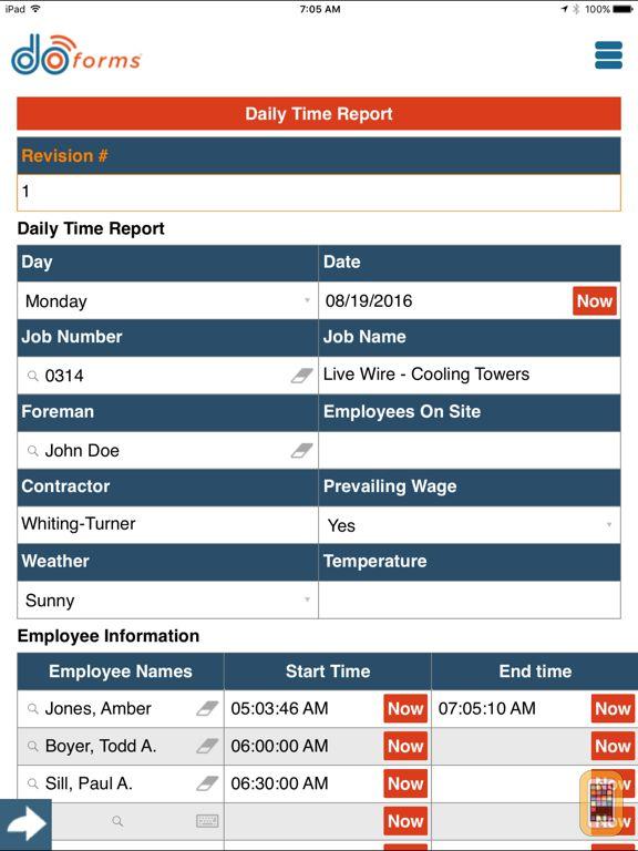 Screenshot - doForms Mobile Data Platform