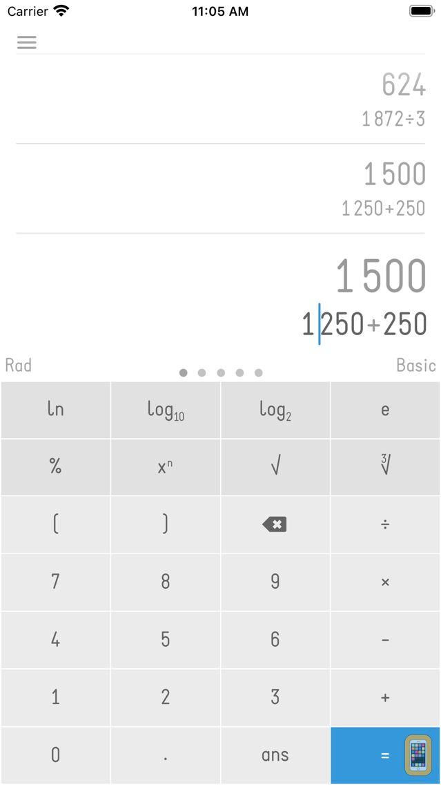 Screenshot - Calc 2M - Scientific Calculator