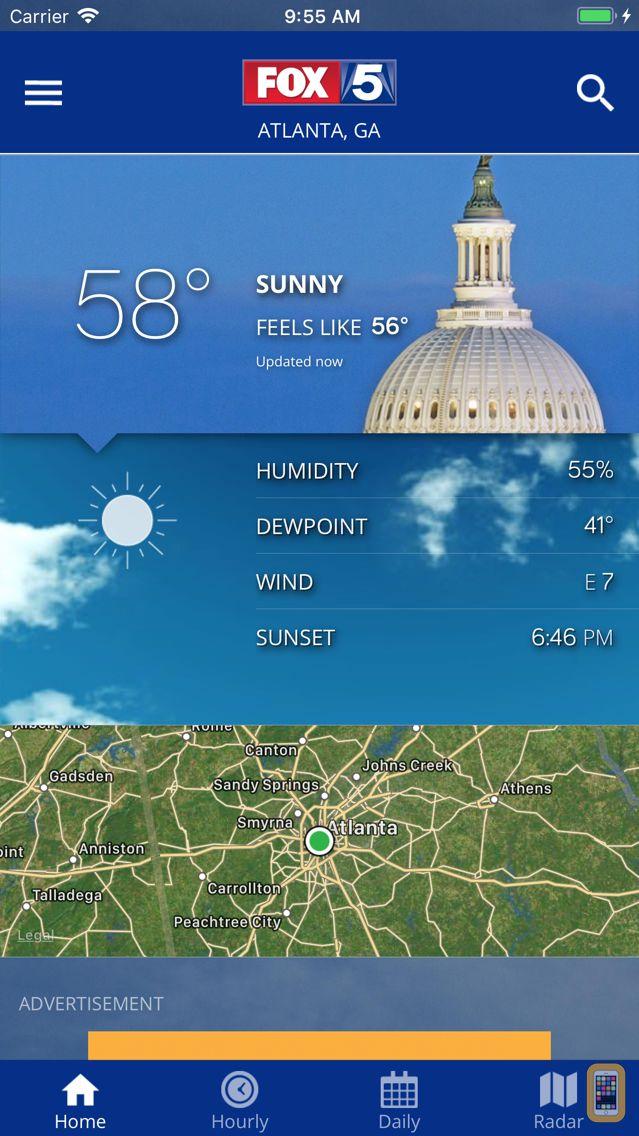 Screenshot - DC Weather Radar and Alerts