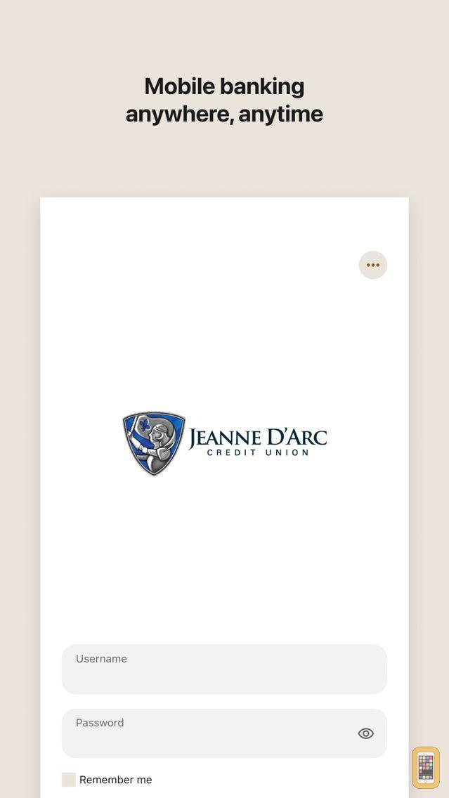 Screenshot - Jeanne D'Arc CU Mobile Banking