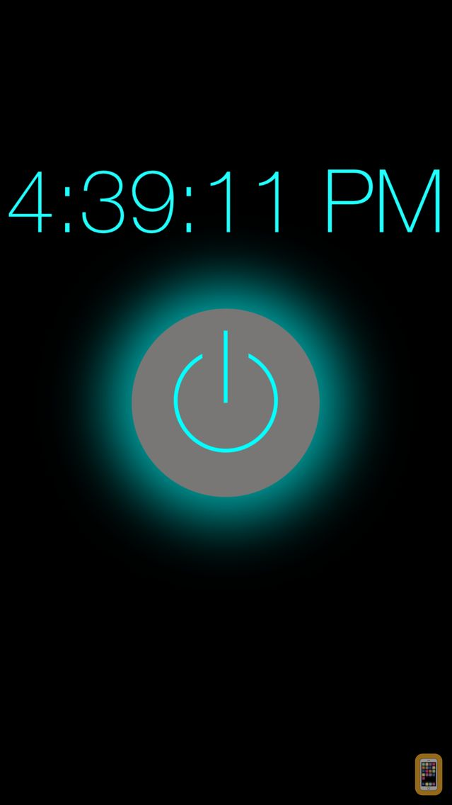 Screenshot - Flashlight - Night Light Clock