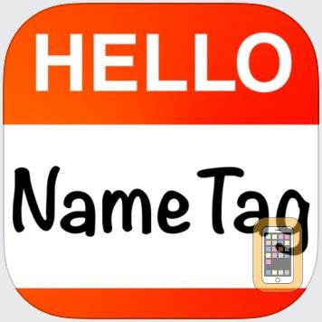 Hello Name Tag by David Ashton (Universal)