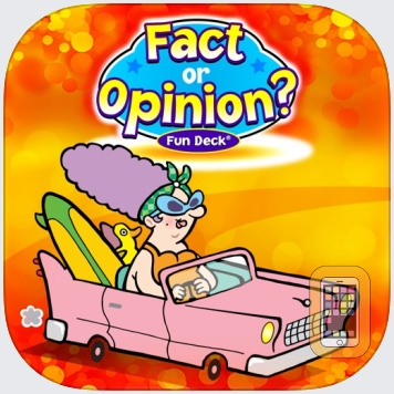 Fact or Opinion? Fun Deck by Super Duper Publications (Universal)
