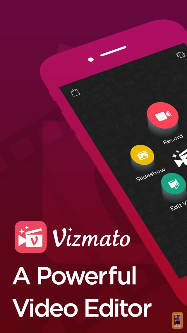Screenshot - Vizmato - Video Editor with FX