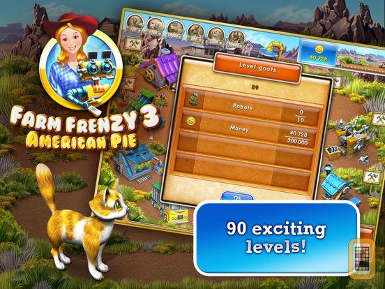 Screenshot - Farm Frenzy 3 American Pie HD