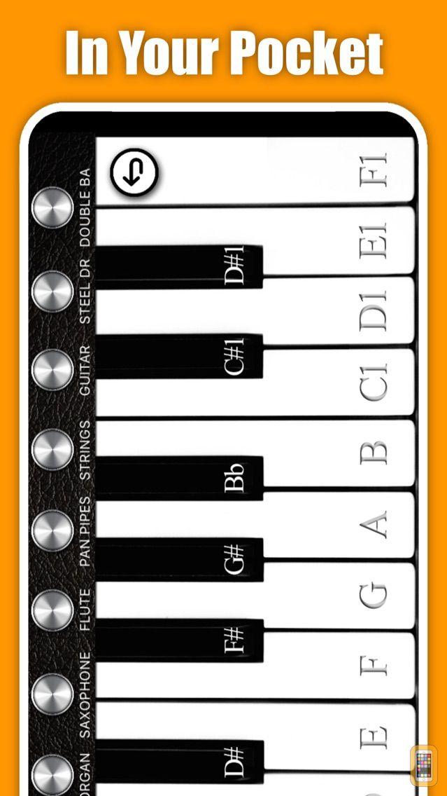 Screenshot - Virtual Piano +
