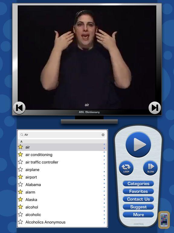 Screenshot - ASL Dictionary for iPad
