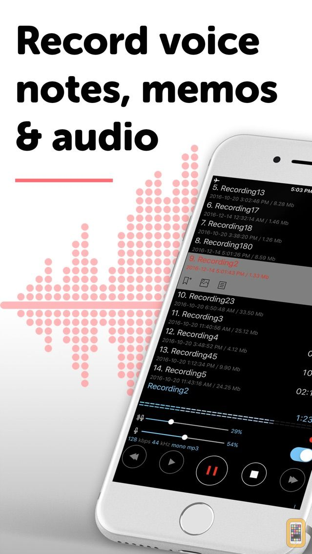Screenshot - Alon Dictaphone-Voice Recorder