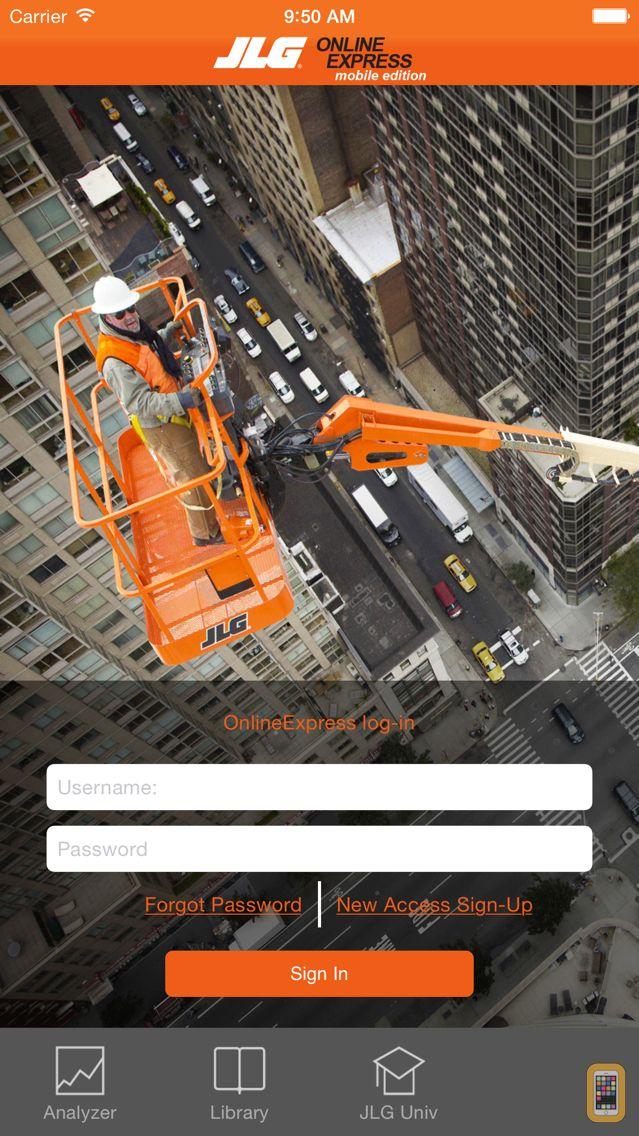 Screenshot - JLG Mobile iPhone