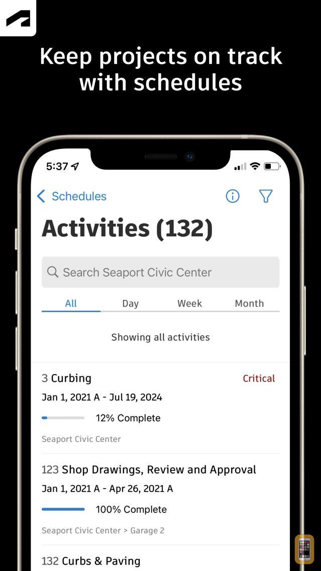 Screenshot - PlanGrid Build Field App