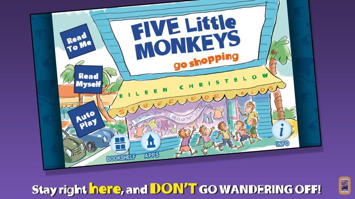 Screenshot - Five Little Monkeys Go Shopping