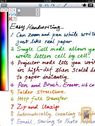 Screenshot - Handwriting