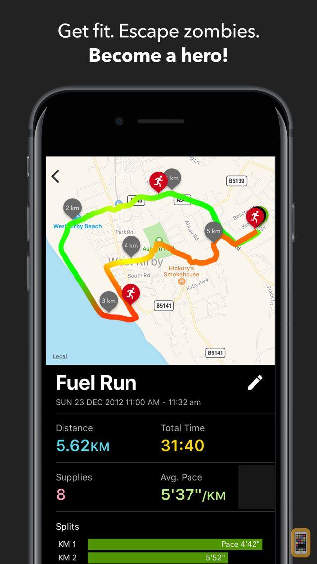 Screenshot - Zombies, Run!