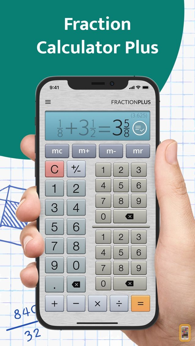 Screenshot - Fraction Calculator Plus