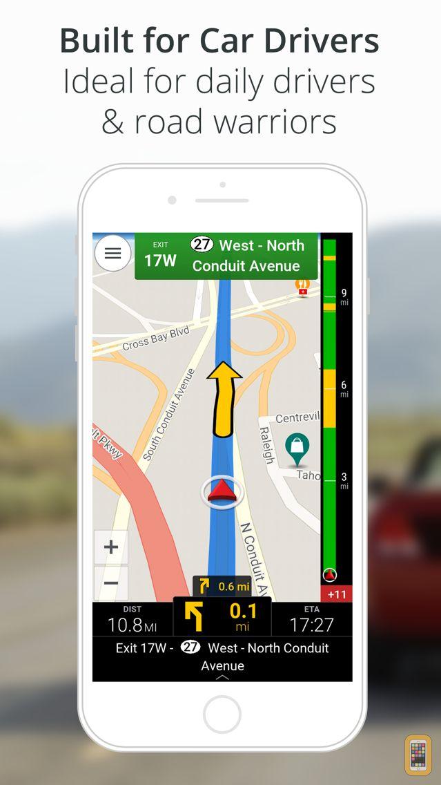 Screenshot - CoPilot GPS Navigation