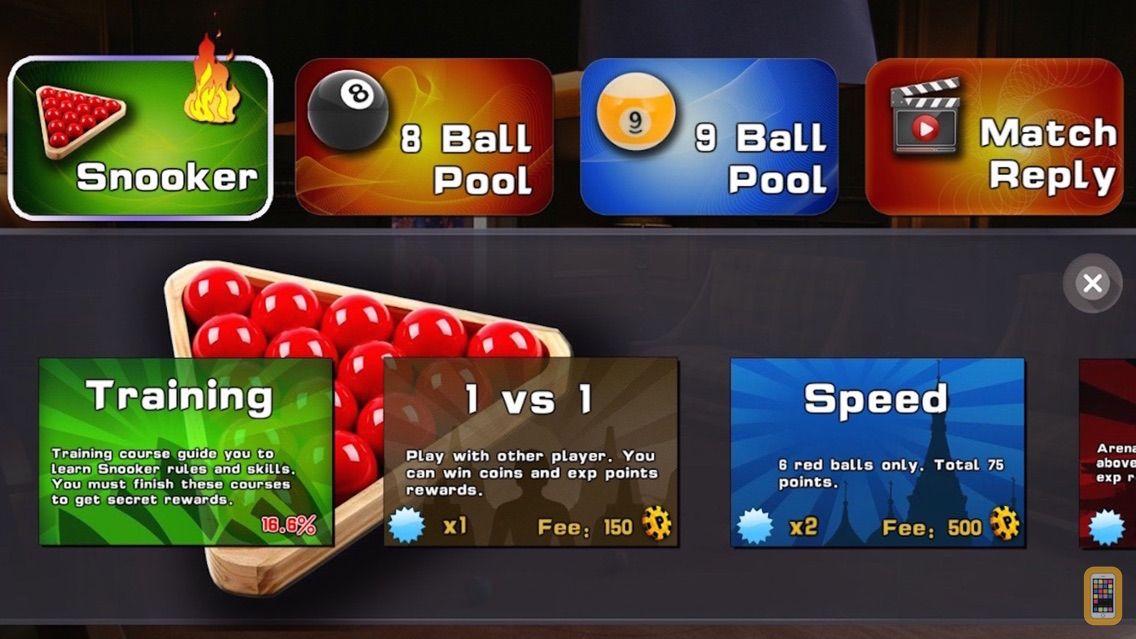 Screenshot - Snooker Training