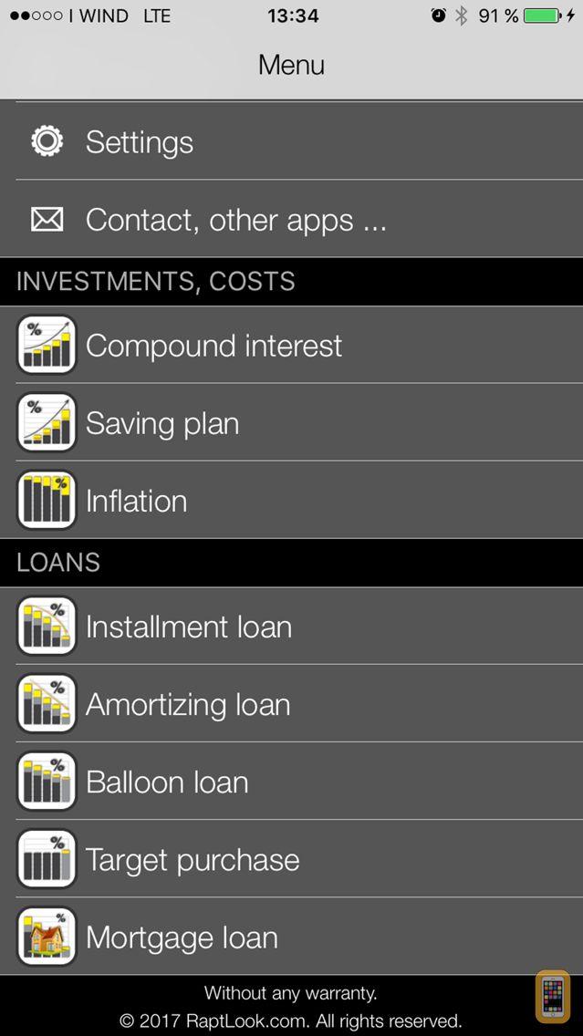 Screenshot - Finance Calculator Pro