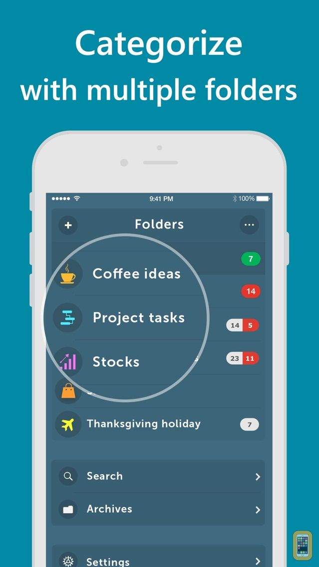 Screenshot - Orderly - Simple to-do lists