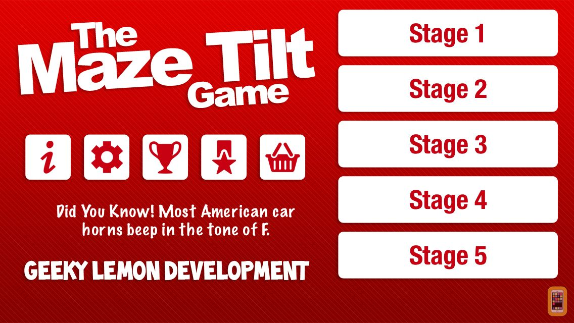Screenshot - The Maze Tilt Game