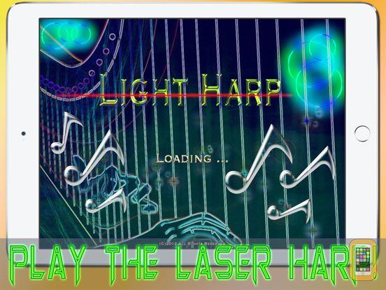 Screenshot - Light Harp HD