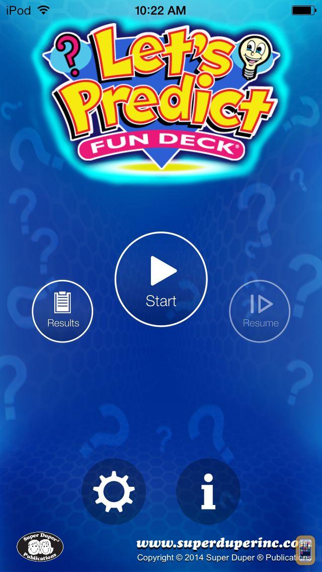 Screenshot - Let's Predict Fun Deck