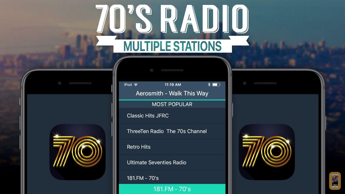 Screenshot - 70s Radio+