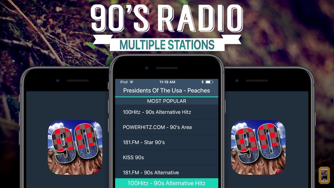 Screenshot - 90s Radio+