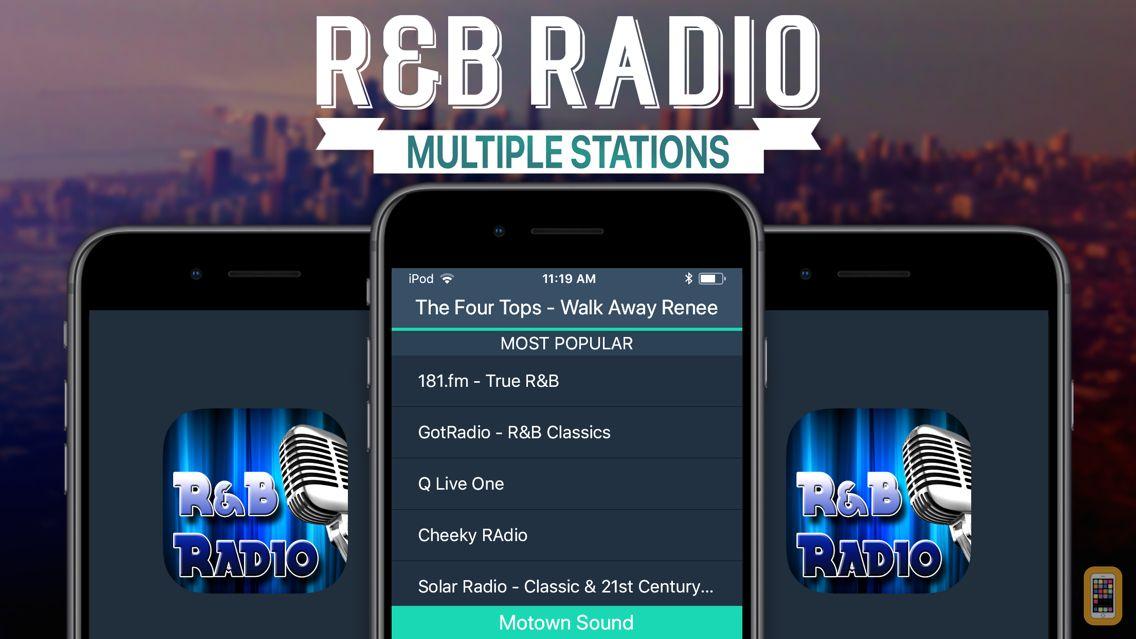 Screenshot - R&B Radio+
