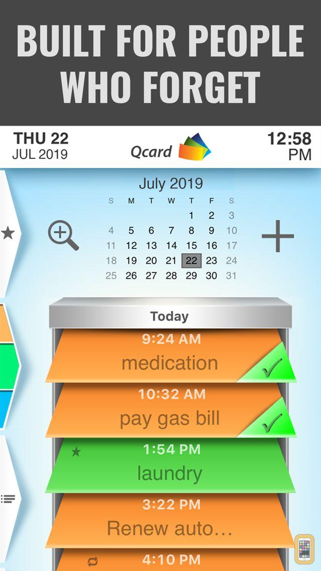 Screenshot - Qcard | Outsmart Forgetfulness