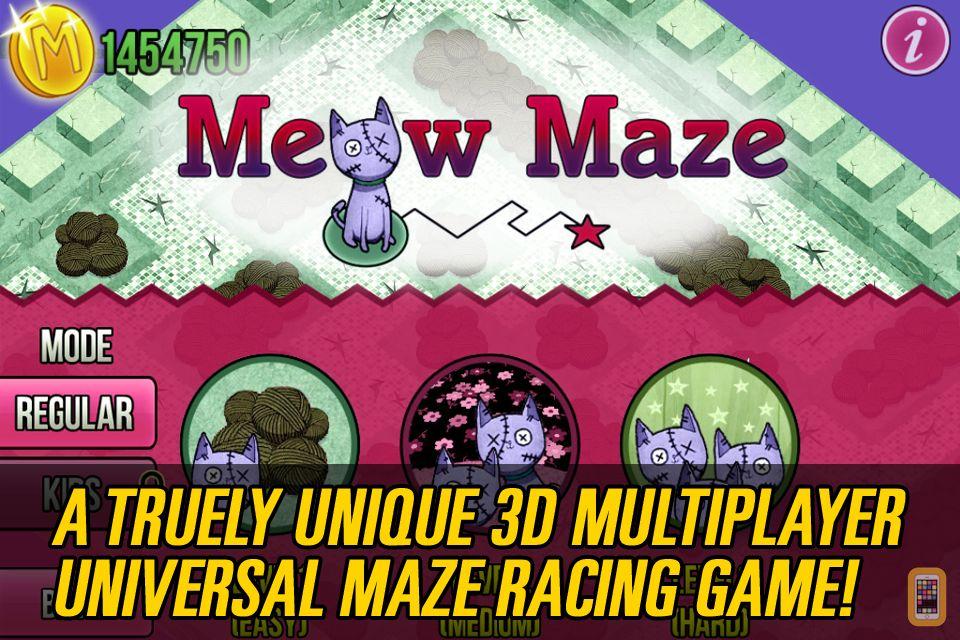 Screenshot - Meow Maze Zombie Cats Game