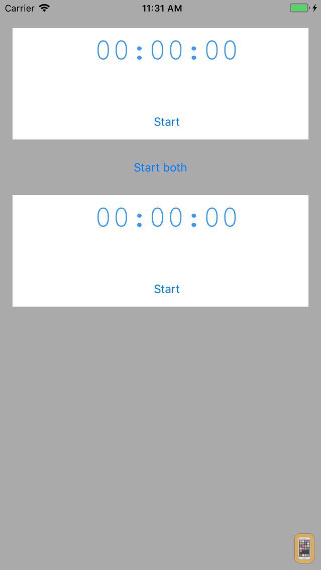 Screenshot - DualTimer