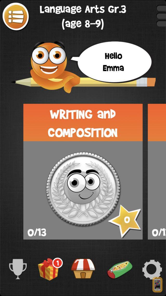 Screenshot - iTooch 3rd Grade App | Math, Language Arts and Science