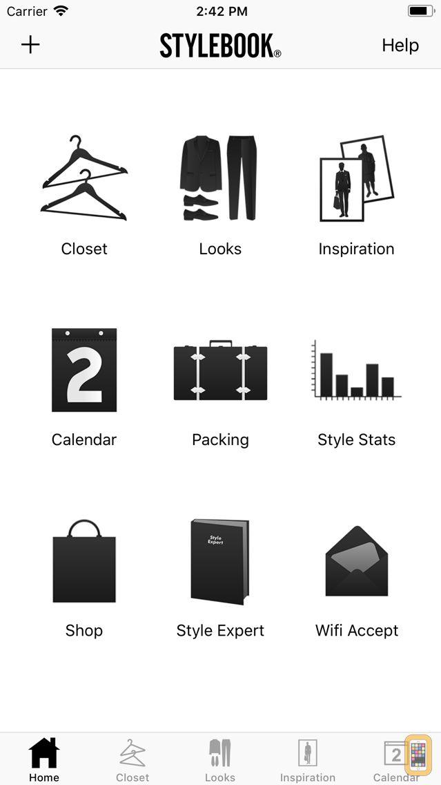 Screenshot - Stylebook Men