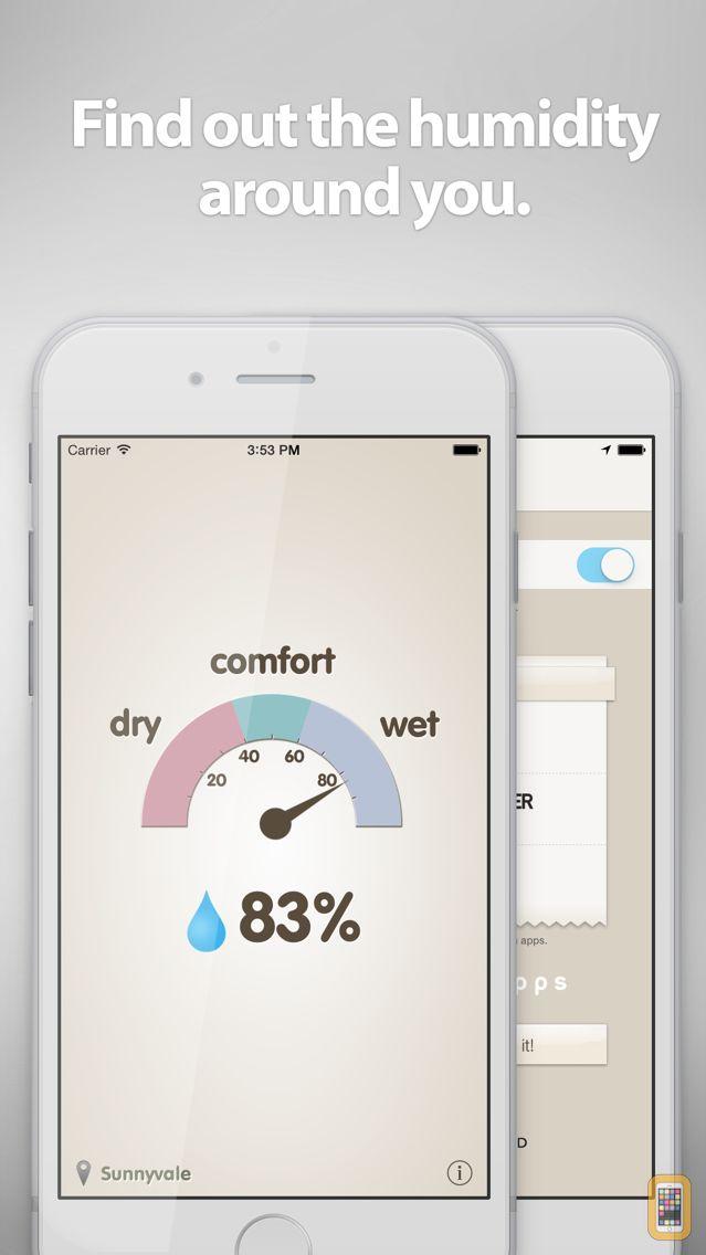 Screenshot - Hygrometer -Check the humidity