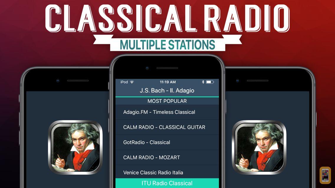 Screenshot - Classical Radio+