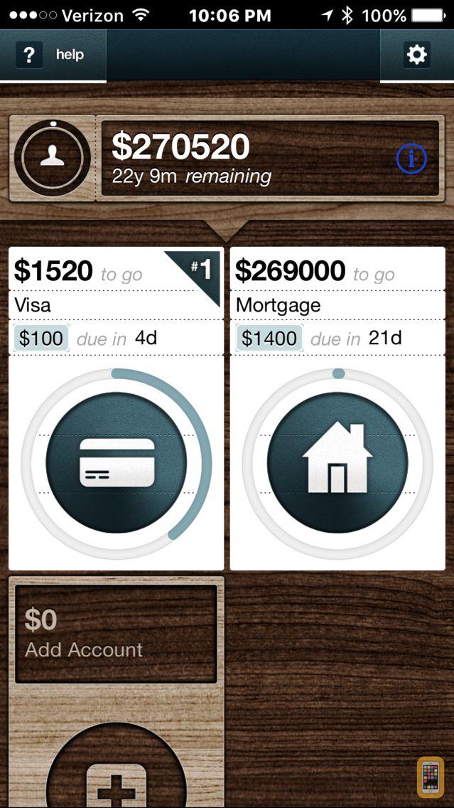 Screenshot - Debt Snowball+