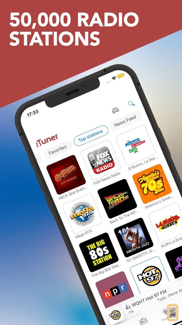 Screenshot - myTuner Radio - Live Stations