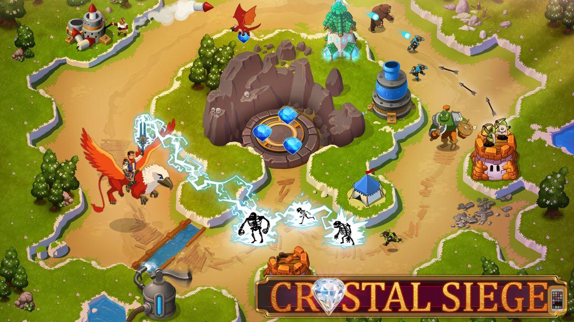 Screenshot - Crystal Siege HD