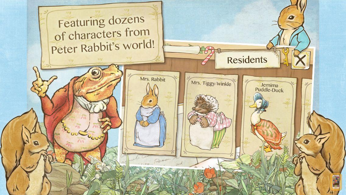 Screenshot - Peter Rabbit's Garden