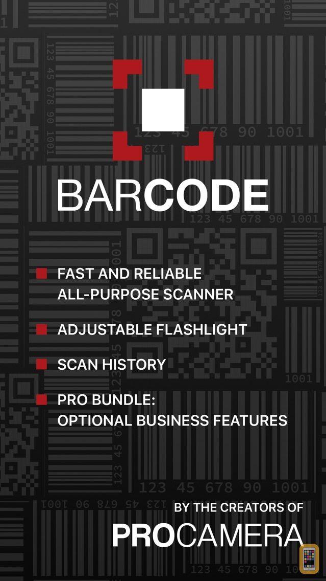 Screenshot - Barcode + QR Code Reader