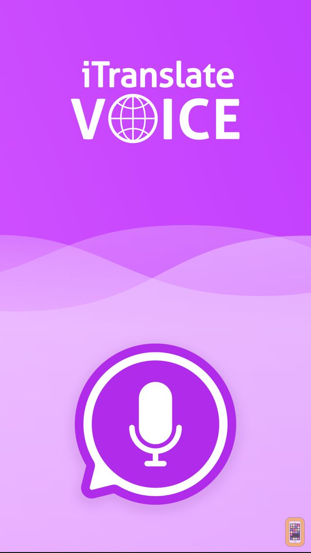 Screenshot - iTranslate Voice