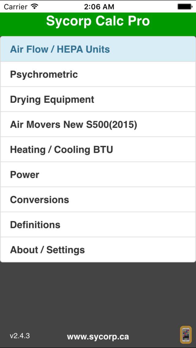 Screenshot - Sycorp Calc Pro