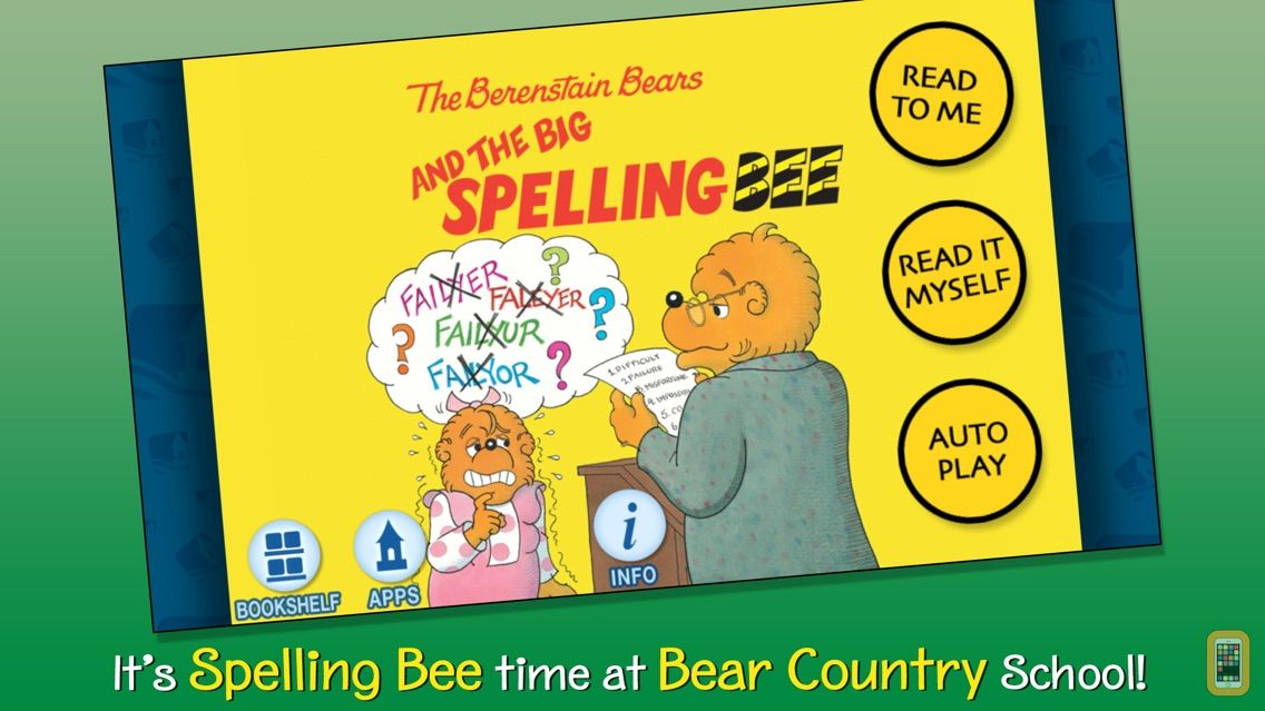 Screenshot - The Berenstain Bears and the Big Spelling Bee