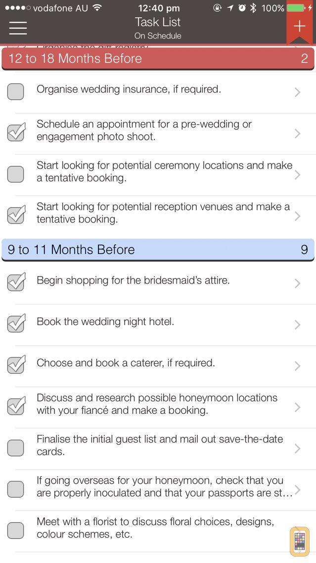 Screenshot - Wedding Planner Professional